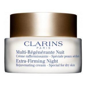 La Crème Multi Régénérante Nuit Peaux Sèches de Clarins