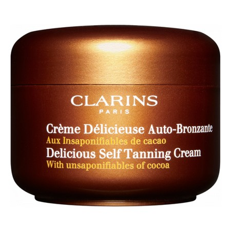 Crème Délicieuse Auto-bronzante de Clarins ; pour une mine ensoleillé