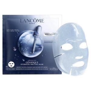 Masque Hydrogel, le nouveau soin Advanced Génifique Lancôme
