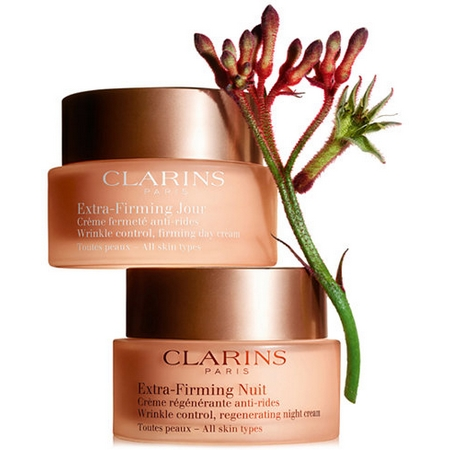Clarins Extra-Firming, nouveaux soins anti-âges