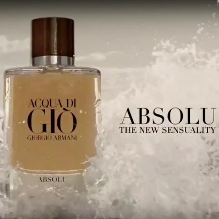 La pub du nouveau parfum Acqua Di Gio Absolu