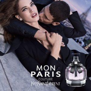 Mon Paris Couture, la pub Yves Saint Laurent