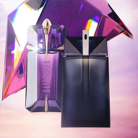 Les parfums Alien Homme et Femme