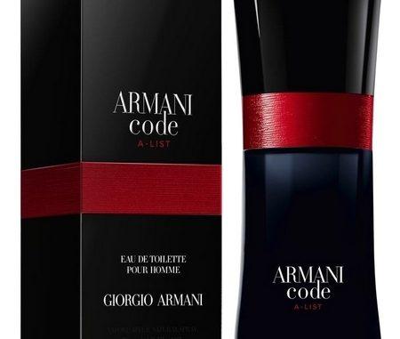 Nouveau Parfum Armani Code A List Prime Beauté