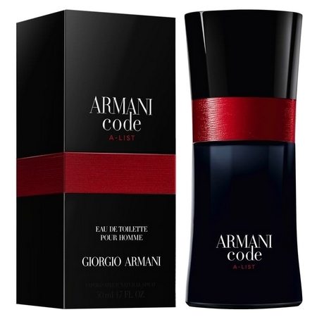 Nouveau parfum Armani Code A-List