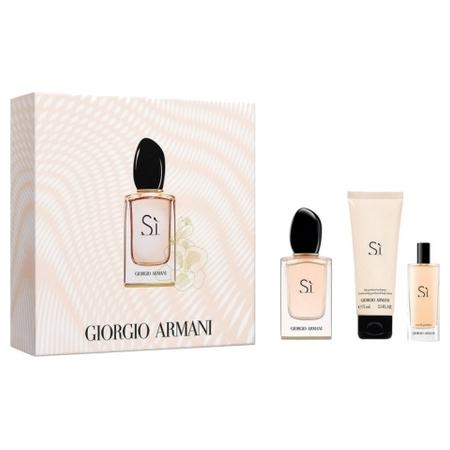 Si coffret parfum femme Armani