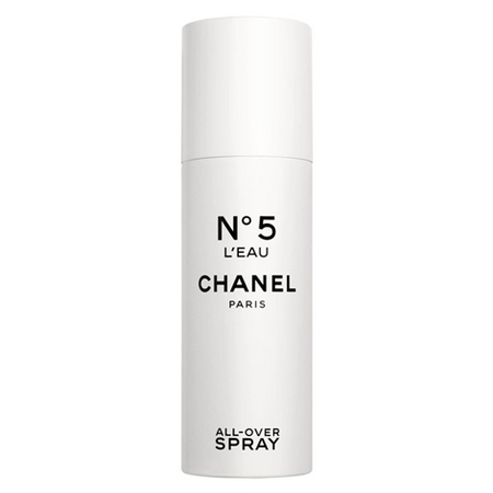 All-Over Spray N°5 L'Eau, la nouvelle façon de se parfumer de Chanel