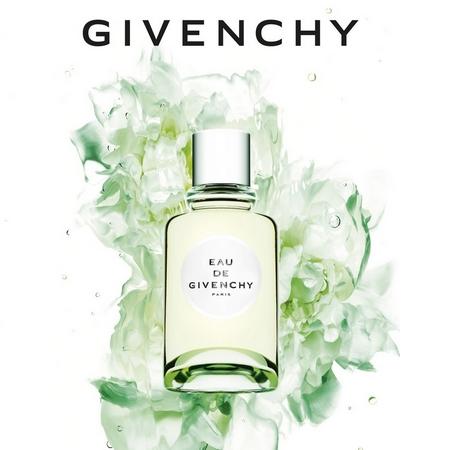 Publicité 2018 de l'Eau de Givenchy