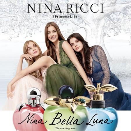 Les trois parfums Les Belles de Nina