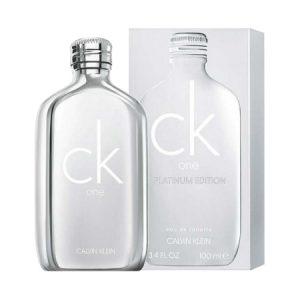 Ck One Platinum, la nouvelle édition de Calvin Klein