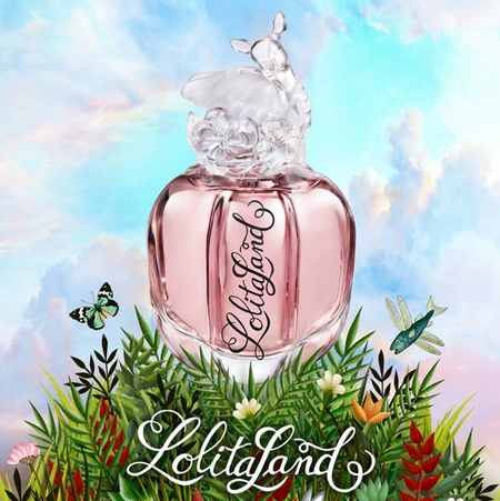 Nouveau parfum LolitaLand de Lolita Lempicka
