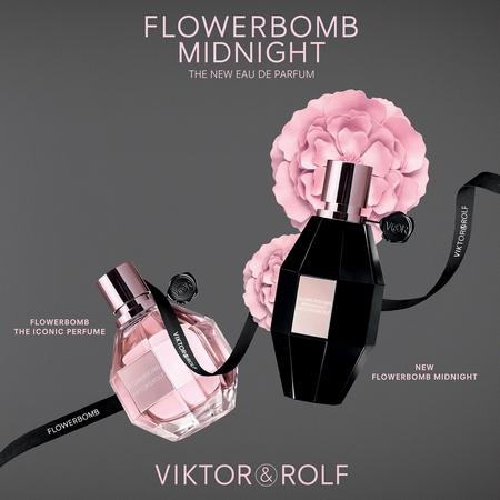 Les parfums Flowerbomb et Flowerbomb Midnight