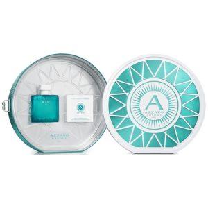 Le nouveau coffret Chrome Aqua d'Azzaro