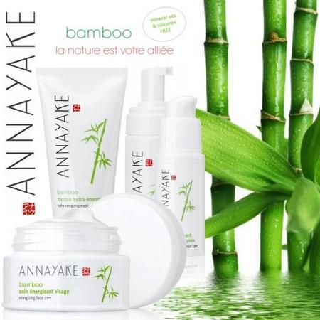 Nouveaux soins Bamboo énergisants Annayake pour votre peau