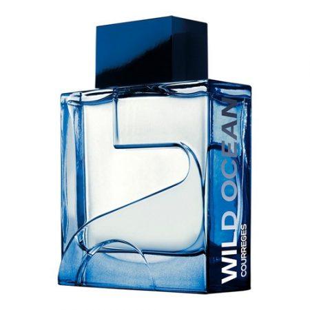 Wild Ocean, le nouveau parfum masculin Courrèges