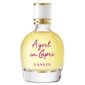 A Girl in Capri, nouveau parfum femme de Lanvin
