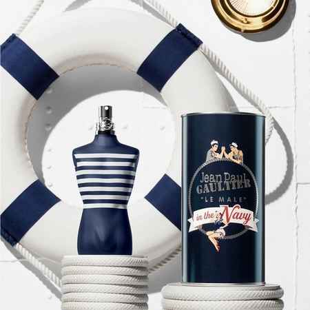 Pub du parfum Le Male In The Navy