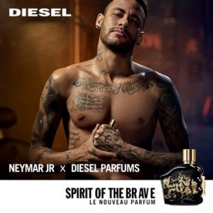 Publicité Spirit of The Brave avec Neymar JR