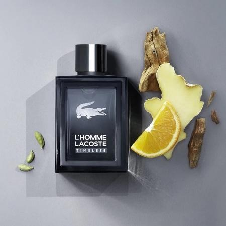Composition parfum L'Homme Lacoste Timeless