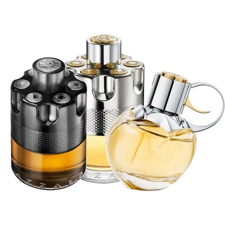 Les différents parfums Azzaro Wanted d'Azzaro