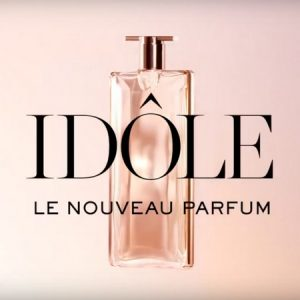 Pub du parfum Idôle de Lancôme