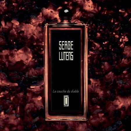Visuel publicitaire du parfum La Couche du Diable