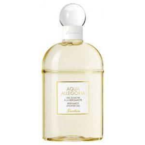 La nouveauté fraicheur de Guerlain du gel douche Aqua Allegoria à la Bergamote