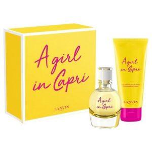 Le nouveau parfum A Girl in Capri de Lanvin enfin en coffret
