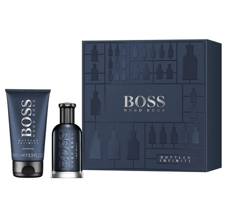 le nouveau coffret riche en contraste : Boss Bottled Infinite de Hugo Boss