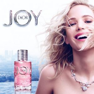 Nouvelle pub Dior Joy Intense incarné par Jennifer Lawrence