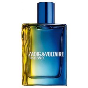 This is Love ! Pour Lui, l'odeur du charme selon Zadig & Voltaire