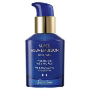 La Super Aqua Emulsion Riche : la nouveauté soin de Guerlain