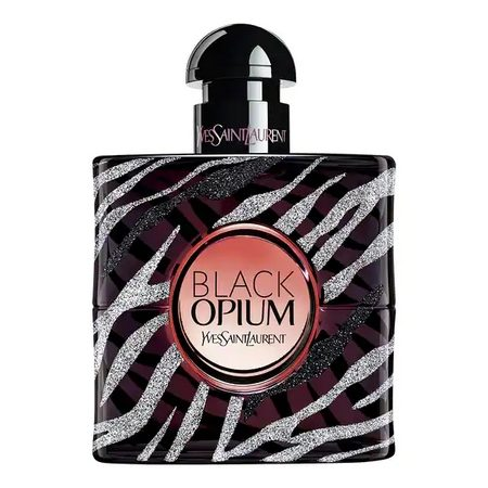 Black Opium Zebra, la nouvelle édition limitée du parfum culte d'Yves Saint-Laurent