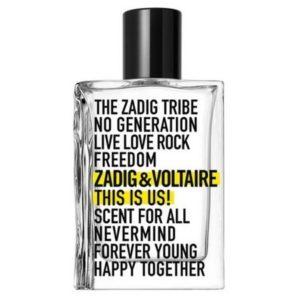 This Is Us Eau de Toilette, lorsque Zadig & Voltaire prône la générosité et le partage