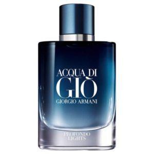 Acqua Di Gio Profondo Lights de Giorgio Armani, un parfum au cœur des abîmes de l'océan