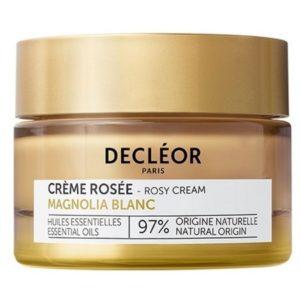 Une peau plus belle et durablement plus jeune grâce à la Crème Rosée au Magnolia Blanc Decléor