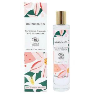 Fleur de Jasmin & Amandier de Berdoues, un parfum 100 % bio synonyme de douceur printanière