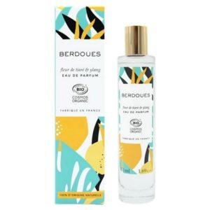 Fleur de Tiaré &Ylang de Berdoues, un parfum 100 % bio synonyme d'exotisme