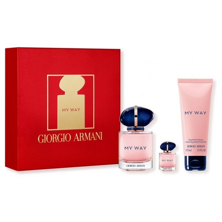Le coffret de My Way de Giorgio Armani, une invitation au voyage