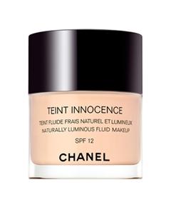 Chanel – Teint Innocence Teint Fluide Frais Lumineux et Naturel SPF 12